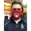 Cloth Face Mask - Red - 2020