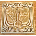 Commemorative Handcrafted Tile - 2010