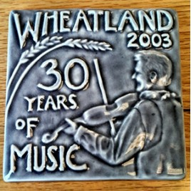Commemorative Handcrafted Tile - 2003