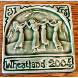 Commemorative Handcrafted Tile - 2004