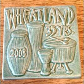 Commemorative Handcrafted Tile - 2008