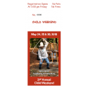 Traditional Arts Weekend: 11-15 Years of Age: Weekend Pass